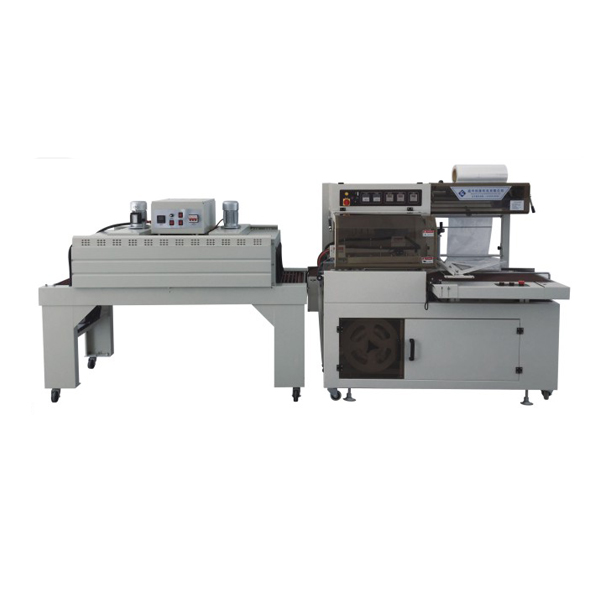 Fully automatic L type sealing and shrinking unit