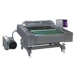 Automatic continuous vacuum packing machine